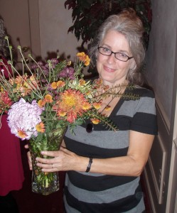 Sydney's sister with Jean's show winning boquet